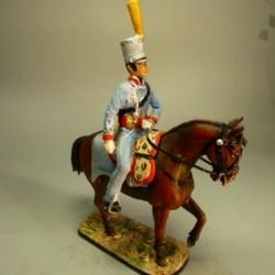 Oficial de Husares exp. Gen. Británica 1817