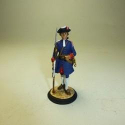 Fusilero Regimiento Real de Artillería 1710