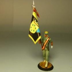 """(LEG-20) Abanderado del Sahara 4º tercio de la legión """"ALEJANDRO FARNESIO"""""""