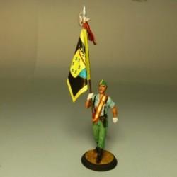 """(LEG-23) Abanderado del 4º tercio de la legión """"ALEJANDRO FARNESIO"""""""