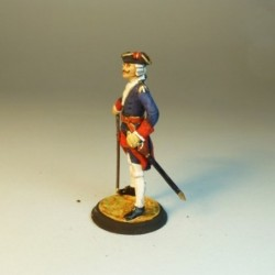 (AR-4) Oficial Regimiento Real de Artillería 1755