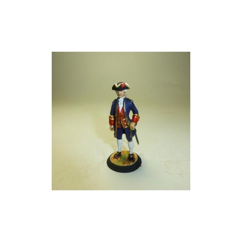 Oficial Artillería de Gala 1758