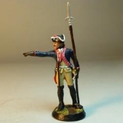 (EF-9) Sub.Infant. 5o Regimiento 1756 Prusia