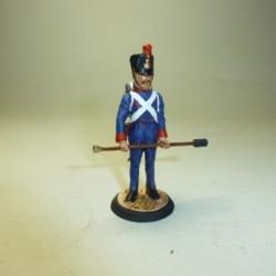 Artillero Regimientos a pie 1812