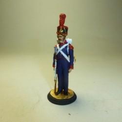 Artillero Regimientos a pie 1822