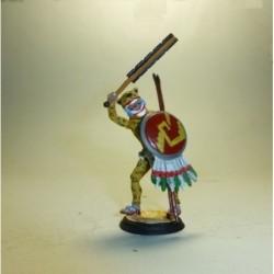 Soldado con Uniforme Tres Cuartos Impermeable 1975