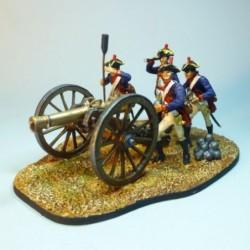 (X-31) Grupo Artillería Independencia Americana 1756-1763
