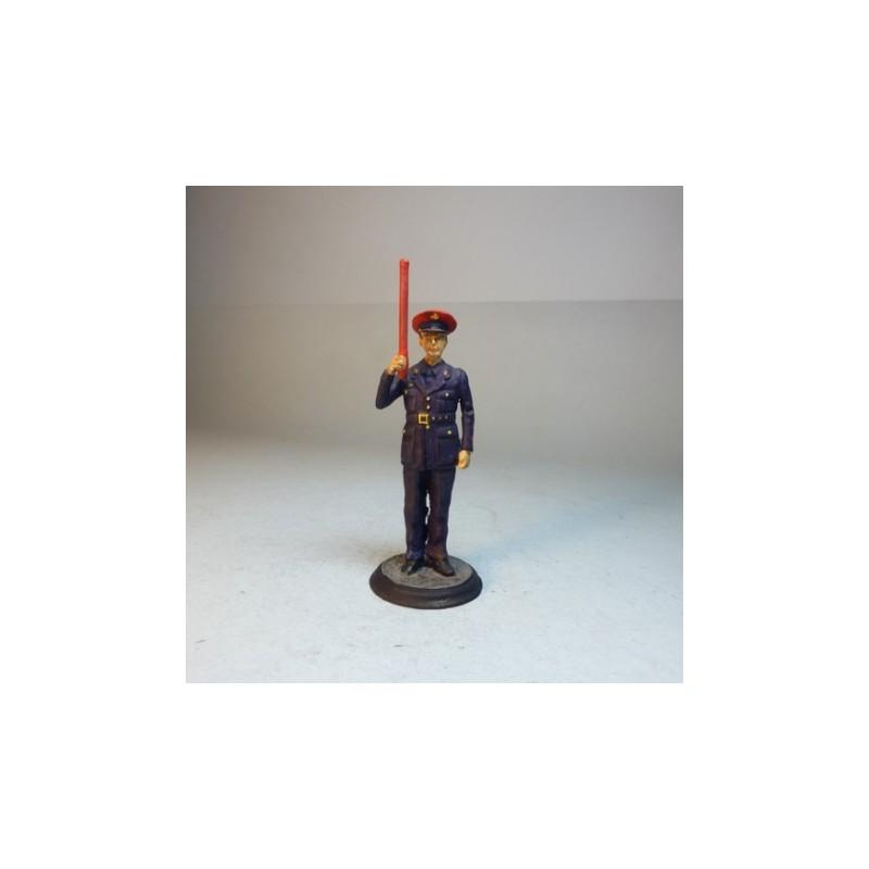 (M-16) Factor de circulacion militar en practicas regimiento Nº13