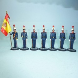 (SG-1) Fusileros de la guardia real Juan Carlos I 1982