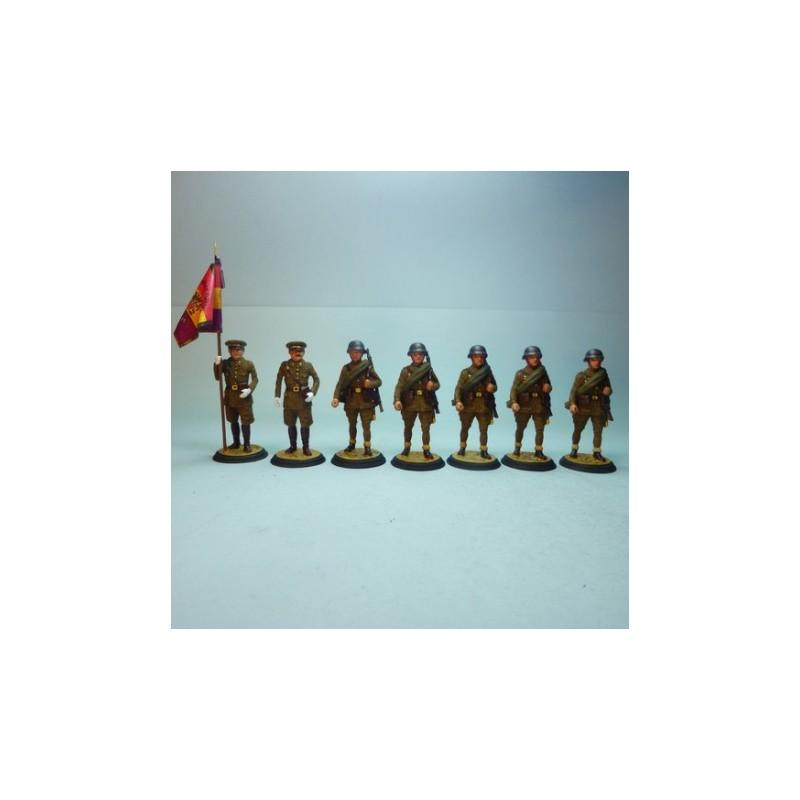 (SG-6) Soldados Infantería republicana 1936