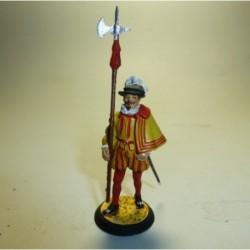 Alabardero Guardia Carlos I 1523