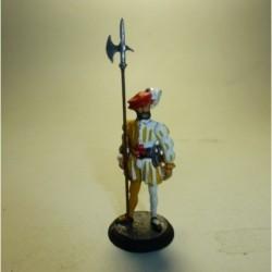 Alabardero de la Guardia Tudesca 1535