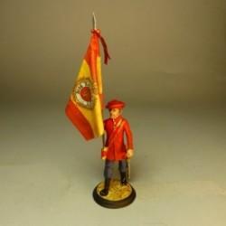 (SE-35) Abanderado Regimiento de Infantería Cadiz 1732