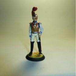 Oficial de Carabineros Francia 1810-1815