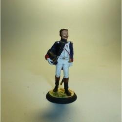 Oficial de Cazadores a pie de la Guardia Imperial Francia 1804-1815