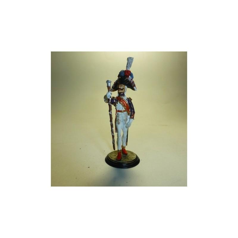 Tambor Mayor de Granaderos Francia 1804-1815