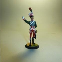 Guardia de Honor 1º Regimiento Francia 1813-1814