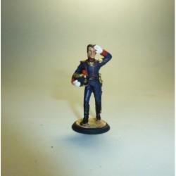 Capitán de Artillería Francia 1812-1813