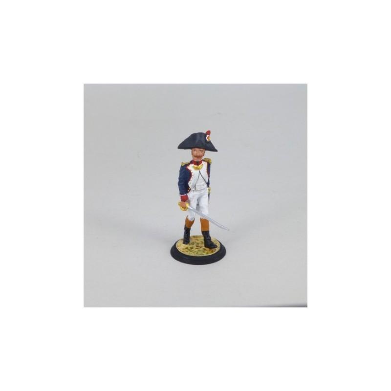 (N-23) Oficial de Fusileros Infantería de Linea Francia 1804