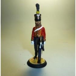 Mariscal de Logistica del 4º de Husares Francia 1807-1812