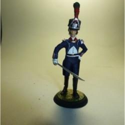 Teniente de Infantería Ligera Francia 1804-1807