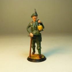 Abanderado Real Cuerpo de Artillería 1780