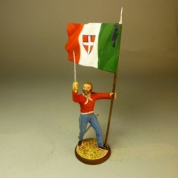 Garibaldi (con bandera) 1860