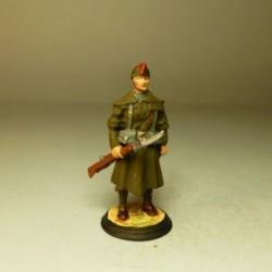 Legionario con Capote y Manta 1924