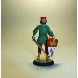 Montero de la guardia real S. XIII