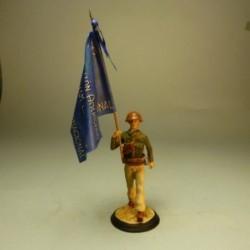 Bandera Batallón Abraham Lincoln 1937