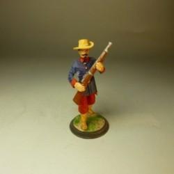 Soldado de la Compañía de Fernando POO 1864