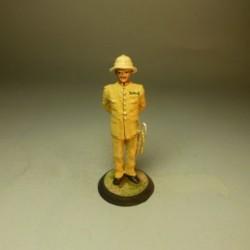 Comandante de la Guardia Colonial de Guinea 1912