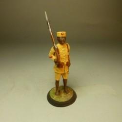 Cabo Indígena de la Guardia Colonial de Guinea 1912