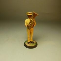 Músico de la Guardia Colonial de Guinea 1912