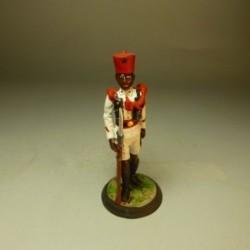 Soldado de Gala de la Guardia Colonial de Guinea 1935