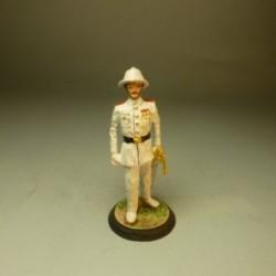 Oficial de Gala de la Guardia Colonial de Guinea 1935