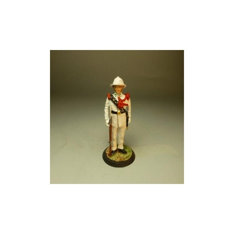 Recluta Europeo Gala Golfo de Guinea 1935