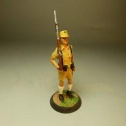 Recluta Europeo Gala Guardia Colonial Golfo de Guinea 1968