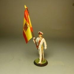 Abanderado Gala Guardia Territorial Golfo de Guinea 1968