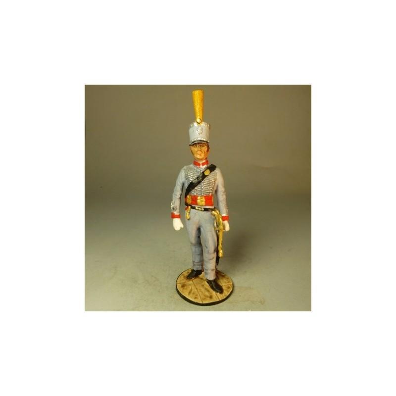 Oficial Usares EXP. GEN. Inglesa 1817