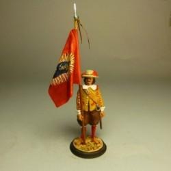 Abanderado Bandera Imperial de Carlos I 1520