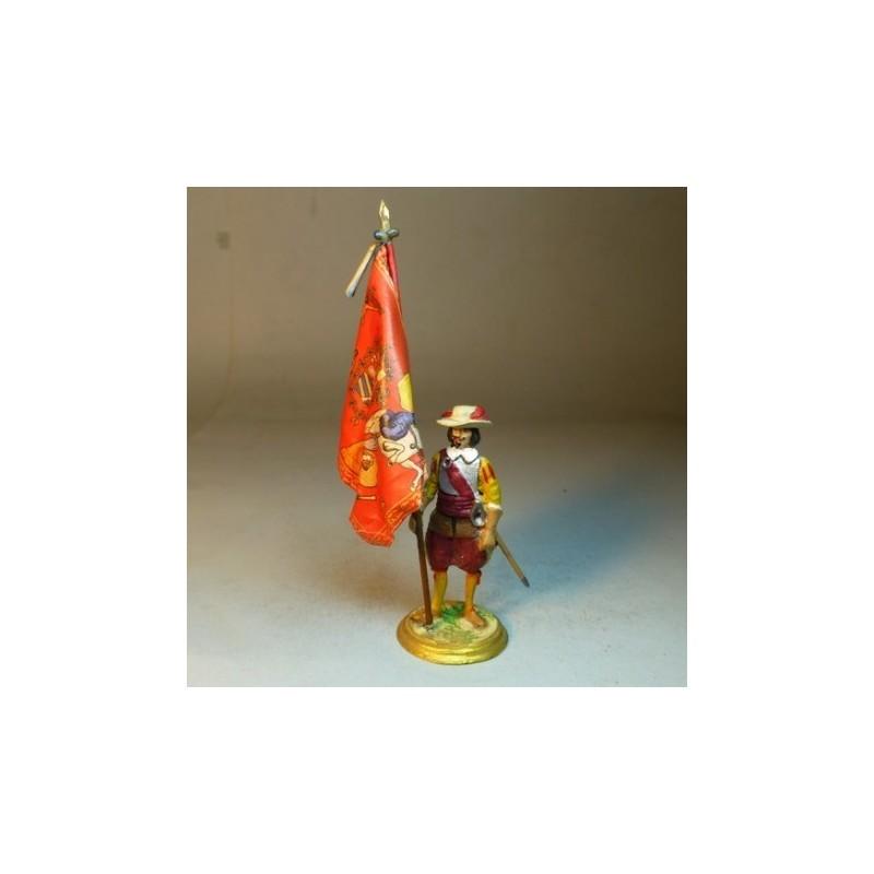 Bandera del Almirante General de la Armada Mar Océano 1630