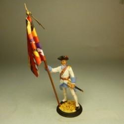 Abanderado de Artillería 1710