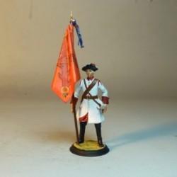 (BE-17) Abanderado del Regimiento Provincial de Sevilla 1725