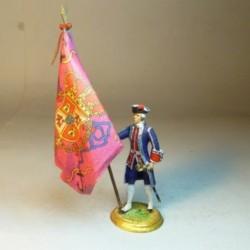 Bandera Coronela del Comandante Batallón Infantería de Marina Barlovento 1740