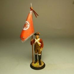 Porta Estandarte Regimiento Caballería Calatrava 1790