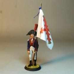 (BE-22) Abanderado Batallon de Fusileros 1799