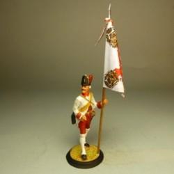 Abanderado Regimiento Infantería de Luisiana 1780