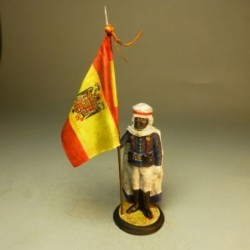 Abanderado Escolta Mora de Franco 1945