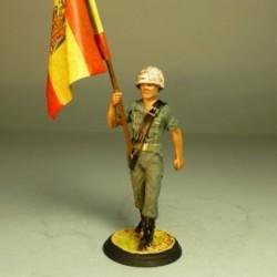 Abanderado Infantería de Marina 1970